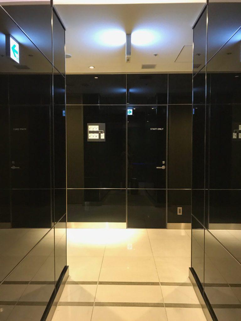 SFC修行 ANAラウンジ シャワールーム
