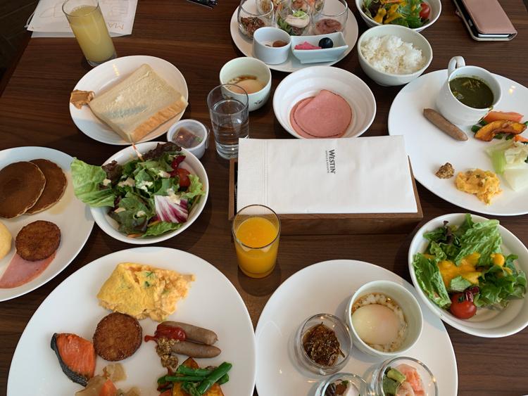 ウェスティンルスツの朝食画像